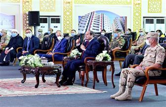 الرئيس السيسي: الهجوم على بعض المشروعات الجديدة لا ينال من معنوياتي.. والمغرضون يريدون تدمير مصر