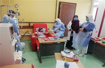 تشغيل تجريبي لقسم الغسيل الكلوي للأطفال بمستشفى النصر ببورسعيد