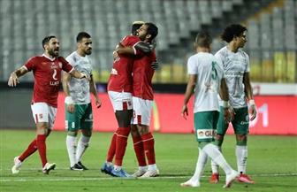 الأهلي يهزم المصري بثنائية بادجي وفتحي|  صور
