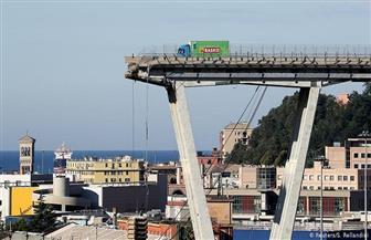 افتتاح جسر الطريق السريع الجديد في جنوة في احتفال رسمي