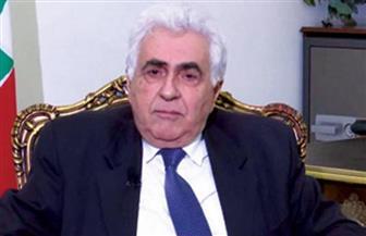 وزير الخارجية اللبناني يتقدم باستقالته من منصبه