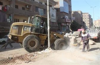 محافظة الجيزة: رفع 45 ألف طن مخلفات وقمامة في عيد الأضحى | صور