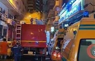 السيطرة على حريق بمستشفى خاص بالإسكندرية دون إصابات