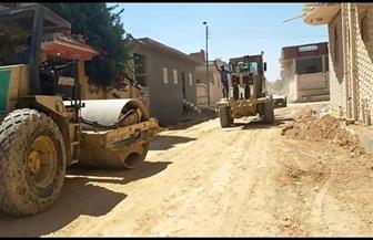 مدينة مرسى مطروح: خطة لتمهيد شوارع العزب والأحياء المزدحمة بالسكان | صور