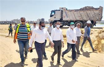 مسئولو الإسكان يتفقدون مشروع تطوير بحيرة عين الصيرة بمحافظة القاهرة|صور