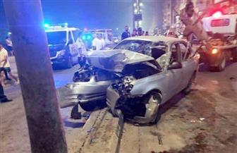 مصرع 2 وإصابة 3 آخرين في حادث مروري ببنها