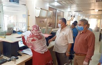 سكرتير مساعد أسيوط يتفقد المركز التكنولوجي بمركزي أبنوب والفتح|صور