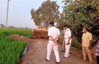 محافظ الشرقية: إزالة 52 حالة تعد في ديرب نجم واسترداد 73 فدانا بالحسينية |صور