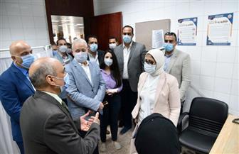 وزيرة الصحة تشدد على إجراء المسافرين والقادمين من الخارج تحليل «pcr» لفيروس كورونا | صور