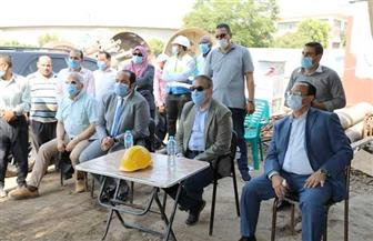 محافظ المنوفية يتفقد توسعات محطة معالجة صرف صحي الغوري ببركة السبع   صور