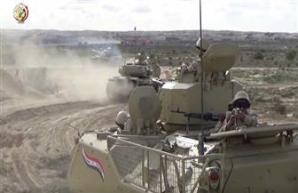 القوات المسلحة: تدمير 317 وكرا وملجأ للإرهابيين ومقتل عنصرين شديدي الخطورة بشمال سيناء| فيديو