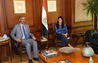 «المشاط» تبحث مع المصرف العربي للتنمية الاقتصادية تعزيز الصادرات والاستثمارات المصرية لإفريقيا
