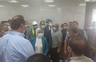 لليوم الثاني.. وزيرة الصحة في جولة ميدانية بالأقصر للوقوف على الاستعدادات الفنية بالتأمين الصحي | صور