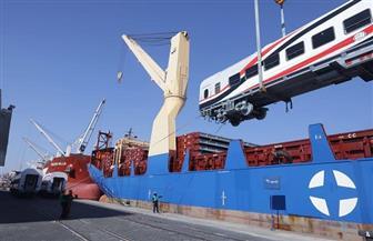 وزير النقل: وصول 22 عربة سكة حديد جديدة إلى ميناء الإسكندرية   صور