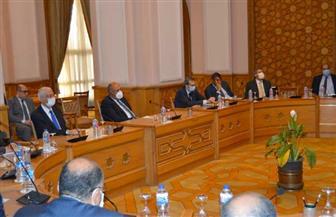 شكري يوجه قيادات وزارة الخارجية باستمرار العمل الدؤوب للدفاع عن المصالح المصرية
