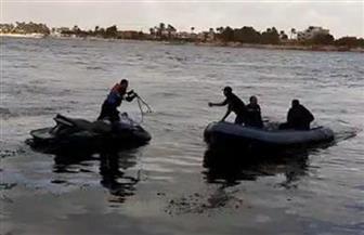 قوات الإنقاذ النهري تواصل البحث عن جثة الطالبة المنتحرة بسمنود لليوم الثاني