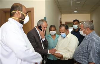 تعافي وخروج 81 حالة مصابة بفيروس كورونا من مستشفى قفط بقنا | صور