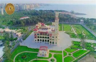 الرئيس السيسي يتفقد منطقة المنتزه التاريخية بالإسكندرية | فيديو