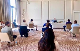 وزير السياحة والآثار يلتقي مستثمري ومديري فنادق بمطروح والساحل الشمالي