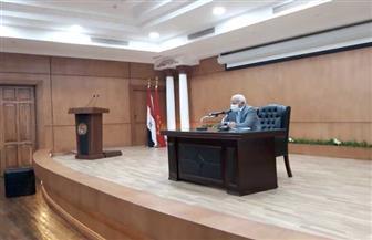 محافظ بورسعيد يعقد اجتماعا مع اللجنة التنسيقية لقانون التصالح في مخالفات البناء | صور