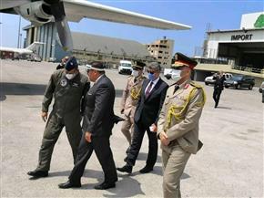 وصول أولى طائرات الجسر الجوي بين القاهرة وبيروت محملة بـ ٩ أطنان مواد طبية