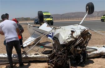 محافظة البحر الأحمر: طائرة الجونة كانت في رحلة تجريبية وتعرضت لعطل مفاجئ  صور