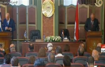 """سامح شكري: اتفاق المنطقة الاقتصادية بين مصر واليونان يسمح بالاستفادة من ثروات """"شرق المتوسط"""""""