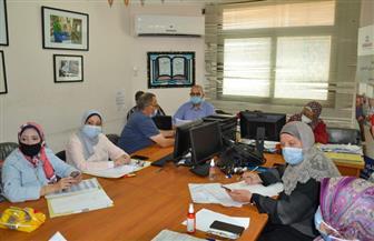 بدء امتحانات شهادة الدبلومات الفنية اليوم وسط إجراءات احترازية ووقائية ببورسعيد | صور