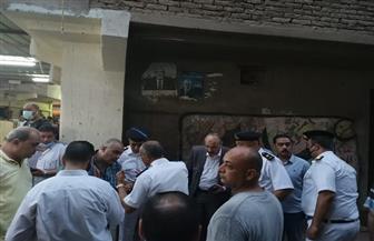 مدير أمن الغربية ينتقل لموقع حادث انهيار منزل المحلة لمتابعة البحث عن ضحايا أسفل الأنقاض   صور