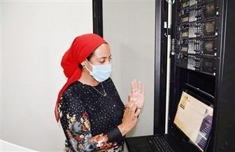 نائبة محافظ جنوب سيناء تتابع بدء التشغيل التجريبي للذاكرة المؤسسية| صور