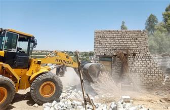 محافظ أسيوط: إزالة 39 حالة تعد واسترداد 163 فدانا أملاك دولة بمركز الفتح | صور
