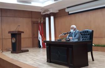 محافظ بورسعيد: غرفة عمليات على مدار 24 ساعة خلال انتخابات مجلس الشيوخ | صور