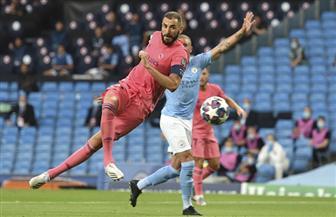 الشوط الأول من مباراة السيتي وريال مدريد ينتهي بالتعادل الإيجابي