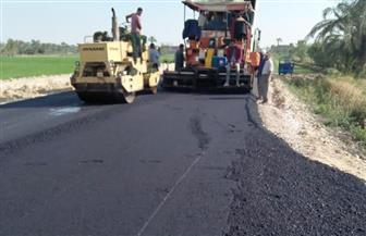 «الأنصاري»: الانتهاء من رصف 24 طريقا بتكلفة 127 مليون جنيه في الفيوم | صور