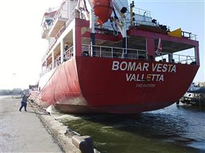 تداول 30 سفينة شحن 4500 طن صودا كاوية بموانئ بورسعيد | صور
