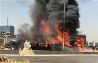 «البترول» تنفي علاقتها بالسيارة التي انقلبت بالطريق الدائري