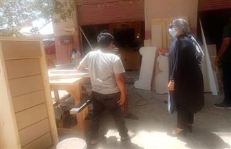 رئيسة مدينة سفاجا تدعو للتعاون بين أصحاب الورش لرفع معدل النظافة بالمنطقة الصناعية | صور