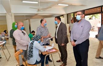 انطلاق أعمال اختبارات القدرات بجامعة أسيوط | صور