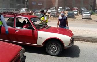 تغريم 74 سائقا لعدم التزامهم بارتداء الكمامة بالشرقية