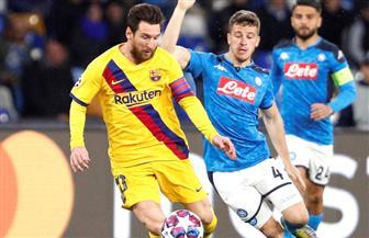 برشلونة يستقبل نابولي لمحاولة إنقاذ الموسم