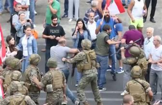 الجيش اللبناني للمتظاهرين في بيروت: ابتعدوا عن قطع الطرق والتعدي على الأملاك