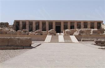 محافظ سوهاج يتفقد المنطقة الأثرية بأبيدوس