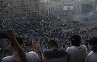 الصليب الأحمر اللبناني: 142 جريحا في تظاهرات بيروت بينهم 32 نقلوا إلى المستشفيات