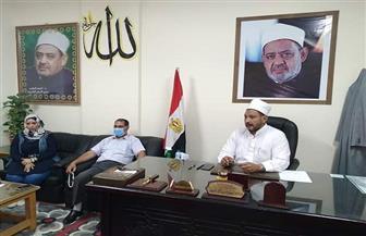 رئيس منطقة البحر الأحمر الأزهرية يناقش آليات متابعة انتخابات مجلس الشيوخ   صور