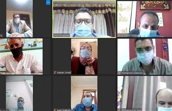 عبر تقنية الفيديو كونفرانس.. وكيل وزارة تعليم جنوب سيناء يعقد اجتماعا استعدادا لانتخابات الشيوخ | صور