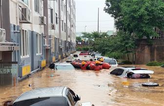وفاة 30 شخصا ونزوح 6000 بسبب الأمطار الغزيرة في كوريا الجنوبية