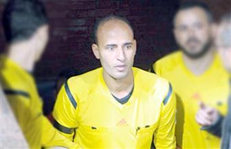 أحمد حمدي حكمًا لمباراة سموحة ووادي دجلة في الدوري الممتاز