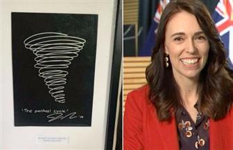 بيع عمل فني لرئيسة وزراء نيوزيلندا في مزاد بآلاف الدولارات
