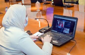 """غرفة """"الهجرة"""" تواصل متابعتها لمشاركة المصريين بالخارج في انتخابات """"الشيوخ"""" صور"""