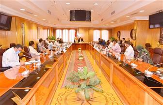 محافظ أسيوط: تنفيذ 24 قرار إزالة تعديات على أراضي أملاك الدولة بمركز الغنايم صور